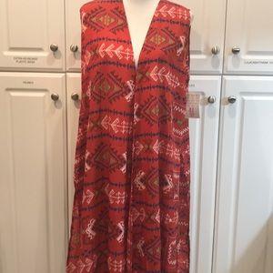 LuLaRoe Aztec Joy vest